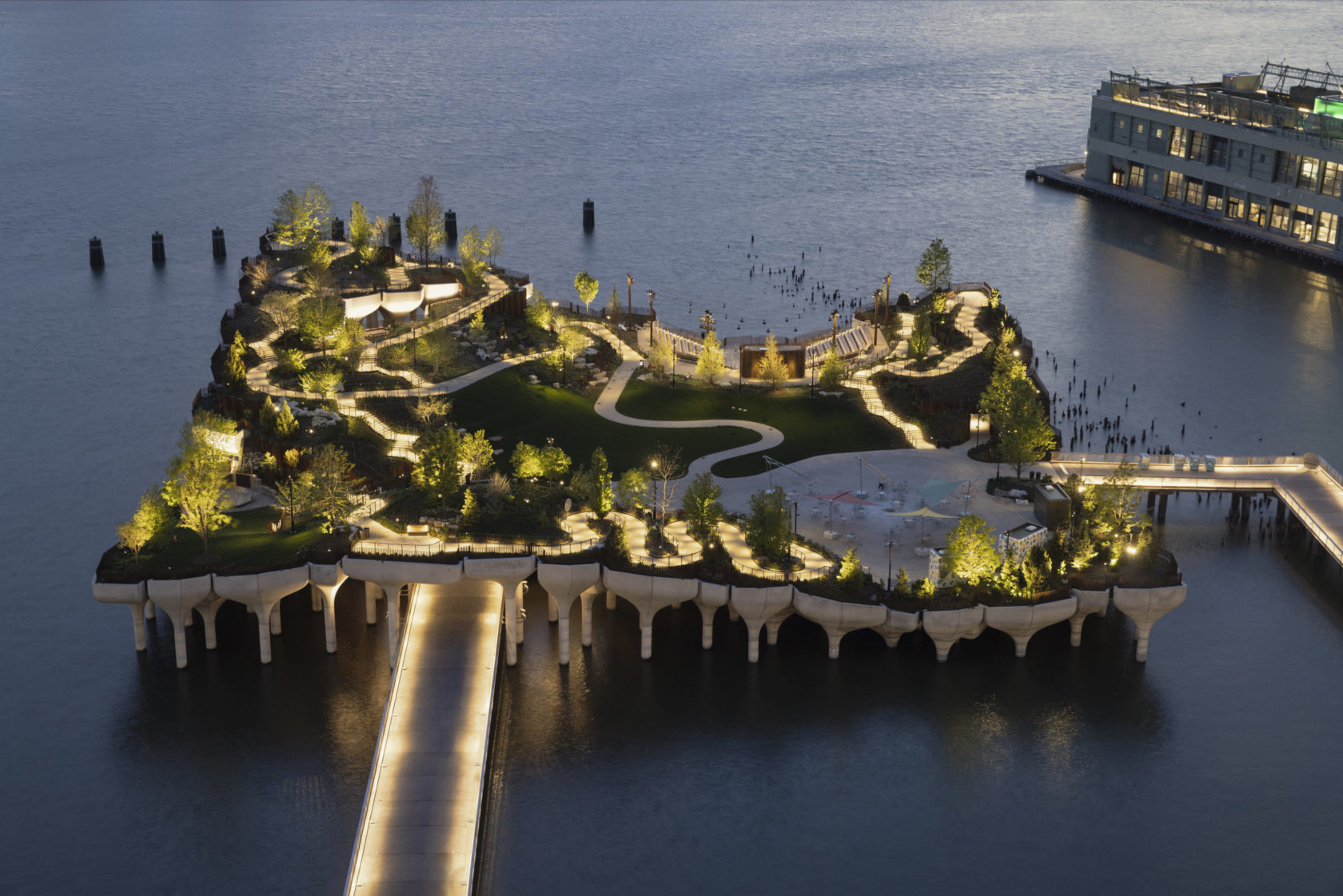 Image of What's the Big Buzz Around Little Island in New York City?